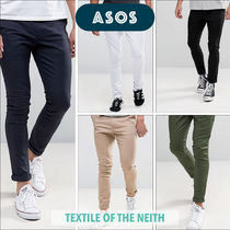 ASOS Plain Cotton Skinny Fit Pants