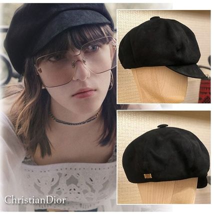 ... Hats 4 Christian Dior Beret   Hunting Unisex Street Style Beret    Hunting ... 828b12a0889