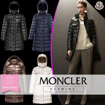 MONCLER HERMINE Plain Medium Parkas