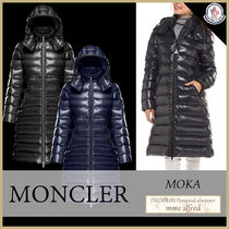 MONCLER MOKA Nylon Plain Medium Parkas