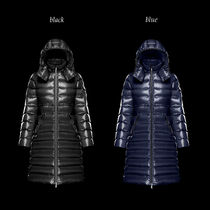 MONCLER MOKA Nylon Plain Medium Logo Parkas