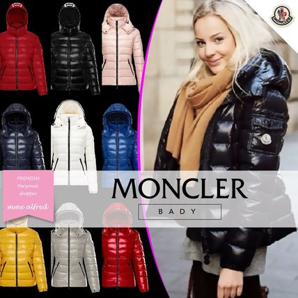 MONCLER Down Jackets Short Plain Down Jackets
