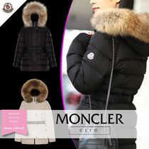 MONCLER CLIO Fur Plain Medium Parkas