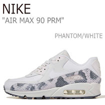 Nike AIR MAX 90 Street Style Other Animal Patterns Leather Sneakers