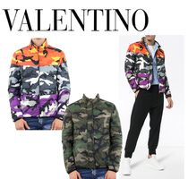 VALENTINO Camouflage Down Jackets