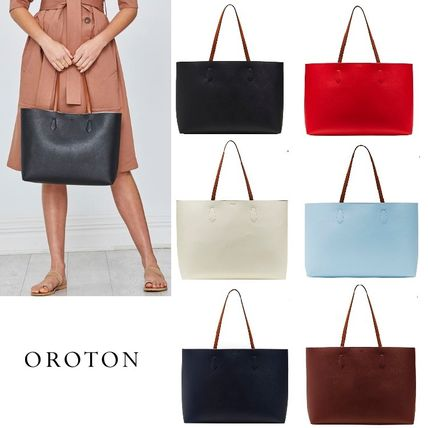 ... OROTON Totes Saffiano Bag in Bag A4 Plain Office Style Oversized Totes  ... ec3f030caf7d2