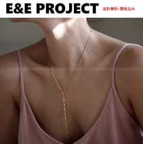 E and E PROJECT Casual Style Chain Silver 14K Gold Fine