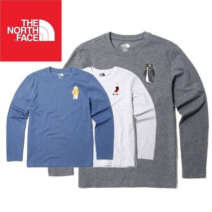 cd6ffc9d63 ... THE NORTH FACE Long Sleeve Crew Neck Pullovers Unisex Street Style Long  Sleeves ...