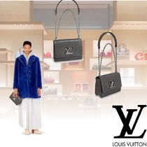 Louis Vuitton EPI Leather Elegant Style Shoulder Bags
