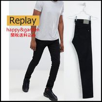 REPLAY Cotton Skinny Fit Jeans & Denim