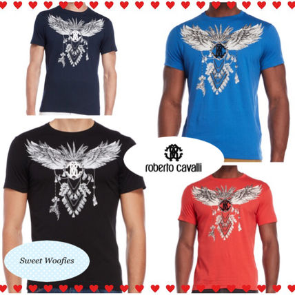 Cotton Short Sleeves Crew Neck T-Shirts
