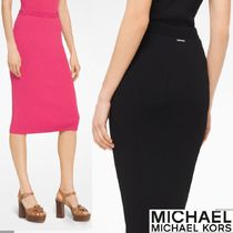 Michael Kors Pencil Skirts Plain Office Style Skirts