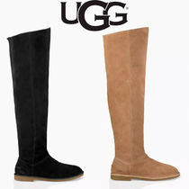 UGG Australia Suede Plain Over-the-Knee Boots