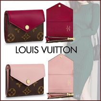 Louis Vuitton MONOGRAM Monogram Canvas Blended Fabrics Bi-color Folding Wallet