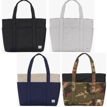 Ron Herman Camouflage Unisex Cambus Street Style A4 Plain Totes