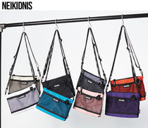 NEIKIDNIS Casual Style Street Style Plain Shoulder Bags