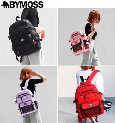 Casual Style Unisex Street Style A4 Plain Bags