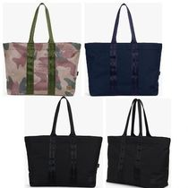 Ron Herman Camouflage Unisex Street Style A4 Plain Totes