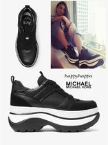 Michael Kors Casual Style Leather Low-Top Sneakers