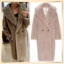 MaxMara Casual Style Plain Long Oversized Coats