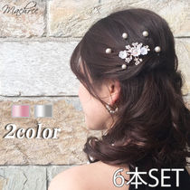 With Jewels Elegant Style Hair Accessories