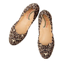 Charlotte Olympia Round Toe Other Animal Patterns Flats