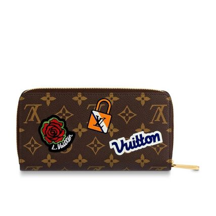 Louis Vuitton Long Wallets Monogram Canvas Blended Fabrics Long Wallets 3