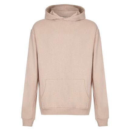 Pullovers Sweat Street Style Long Sleeves Plain Hoodies