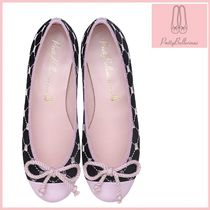 Pretty Ballerinas Velvet Ballet Shoes