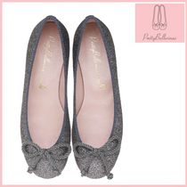 Pretty Ballerinas Round Toe Casual Style Plain Ballet Shoes