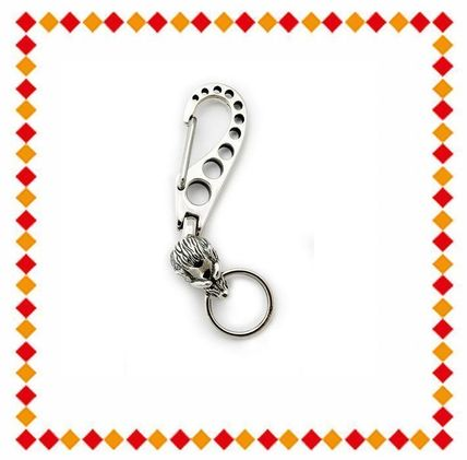 Bill Wall Leather Keychains   Holders Unisex Street Style Plain Handmade  Keychains   Holders 29f54702f716