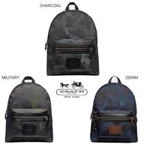Coach Camouflage Backpacks