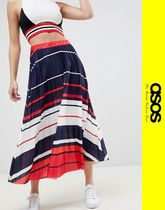 ASOS Pleated Skirts Long Maxi Skirts