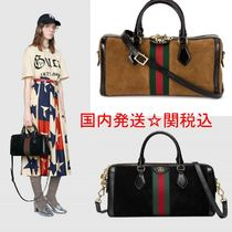 GUCCI Ophidia Casual Style Suede Street Style 2WAY Bi-color Plain