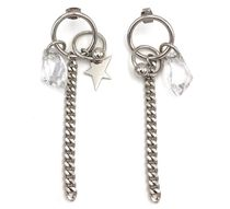 Justine Clenquet Star Unisex Chain Earrings