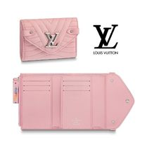 Louis Vuitton Leather Small Wallet Folding Wallets