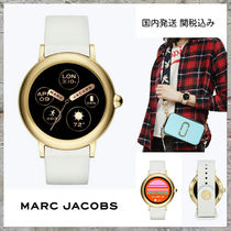 MARC JACOBS Casual Style Silicon Round Digital Watches