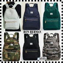 Ron Herman Camouflage Casual Style Unisex A4 Plain Backpacks