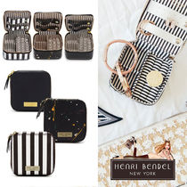 Henri Bendel Plain Leather Pouches & Cosmetic Bags