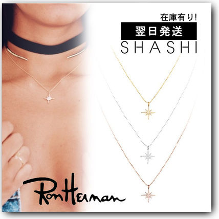 Star Casual Style Handmade Silver 18K Gold With Jewels