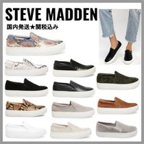 Steve Madden Platform Casual Style Python Slip-On Shoes