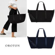 OROTON Unisex A4 2WAY Plain Oversized Boston & Duffles