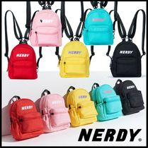 NERDY Casual Style Street Style Backpacks