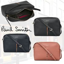 Paul Smith Stripes Leather Shoulder Bags
