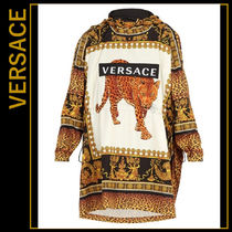 VERSACE Leopard Patterns Umbrellas & Rain Goods