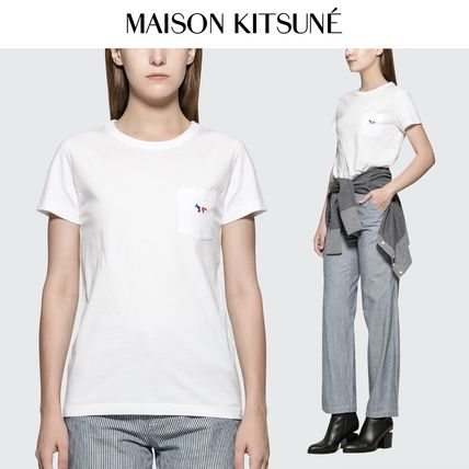 Casual Style Unisex Street Style Cotton Short Sleeves
