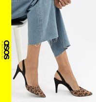 ASOS Leopard Patterns Casual Style Pin Heels