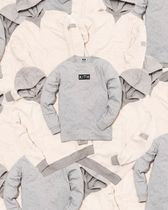 KITH NYC Street Style Long Sleeves Plain Cotton Long Sleeve T-Shirts