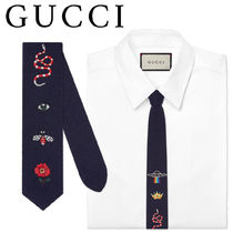 GUCCI Wool Plain Ties