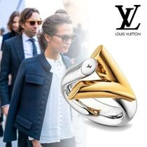 Louis Vuitton Casual Style Street Style Brass Rings